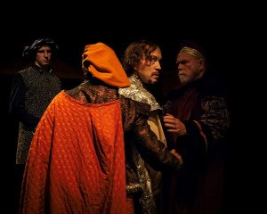 Scene from Walking the dog Theater's production of Richard II